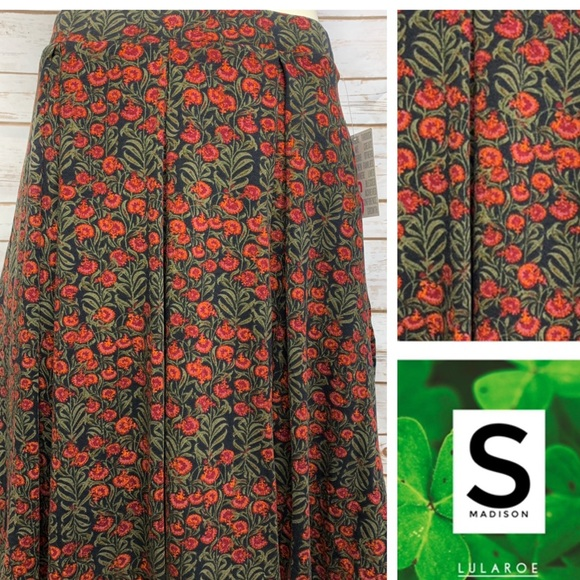 c8400a8c31 LuLaRoe Skirts | Size S Madison Wpockets Skirt | Poshmark